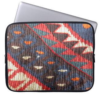 Turkish Exotic Bohemian Boho Ethnic Persian Carpet Laptop Sleeve