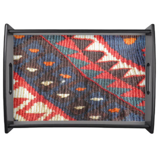 Turkish Exotic Bohemian Boho Ethnic Persian Carpet Serving Tray