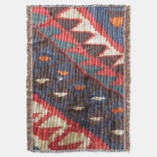 Turkish Exotic Bohemian Boho Ethnic Persian Carpet Throw Blanket