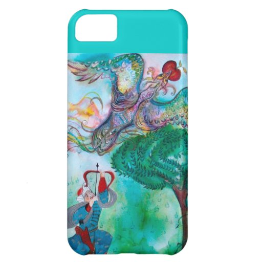 TURKISH FAIRY TALE / PHOENIX AND ARCHER Teal Green iPhone 5C Cases