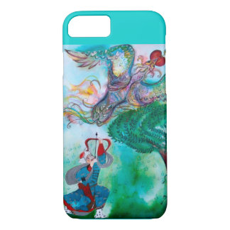 TURKISH FAIRY TALE / PHOENIX AND ARCHER Teal Green iPhone 8/7 Case