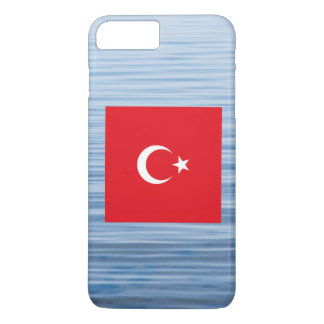 Turkish Flag Floating on water iPhone 7 Plus Case