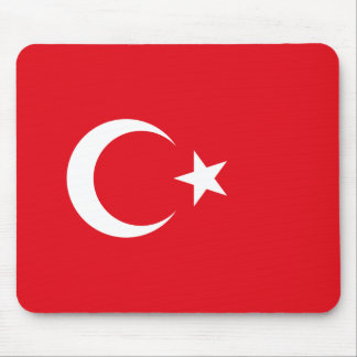 Turkish Flag Mouse Pad