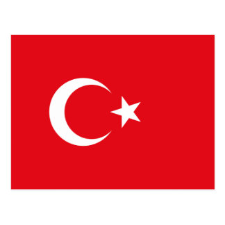 Turkish Flag Postcard