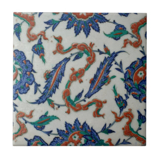 Turkish Floral and Cloud-band Design Tile