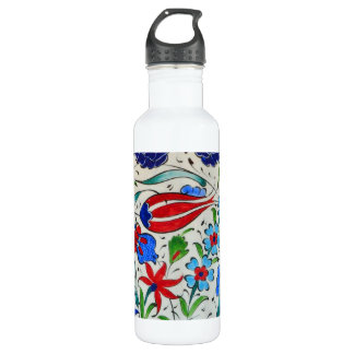 Turkish floral design 710 ml water bottle
