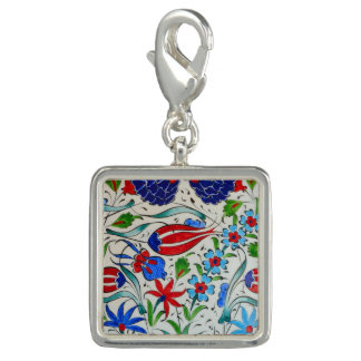 Turkish floral design charm