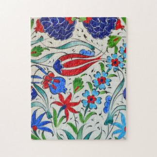 Turkish floral design jigsaw puzzle