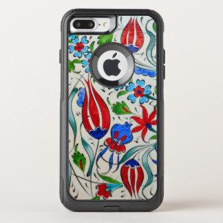 Turkish floral design OtterBox commuter iPhone 8 plus/7 plus case