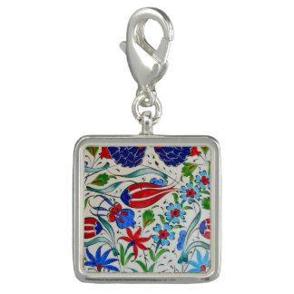 Turkish floral design photo charm