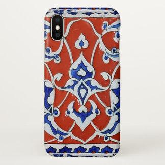 Turkish floral tiles iPhone x case