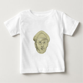 Turkish General Head Drawing Baby T-Shirt