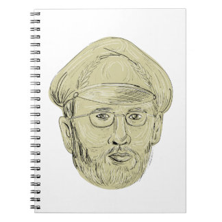 Turkish General Head Drawing Spiral Notebook