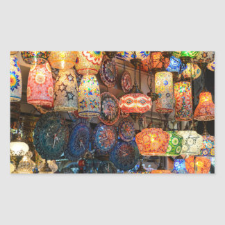 Turkish Glass Lamps for Sale in Istanbul Market