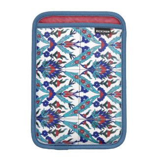 Turkish Iznik Floral Pattern iPad Mini Sleeve