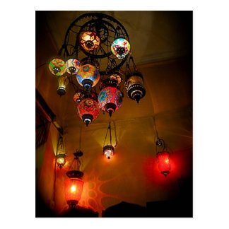 Turkish Lamps Postcards