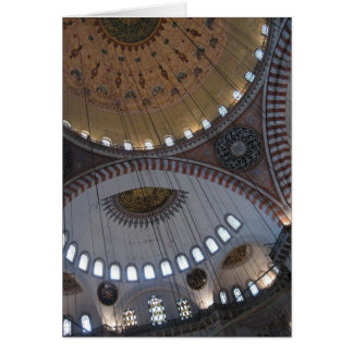Turkish Mosque Ceiling Card