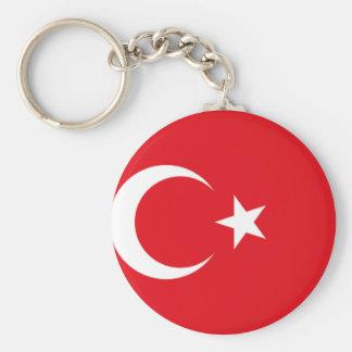 Turkish pride keychain