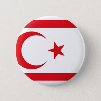 Turkish Republic Northern Cyprus, Cyprus 2 Inch Round Button