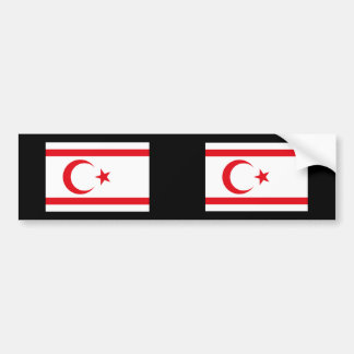 Turkish Republic Northern Cyprus, Cyprus Bumper Sticker
