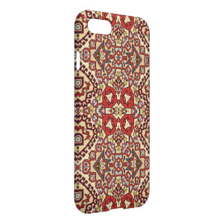 Turkish Rug in Red and Beige iPhone 7 Case