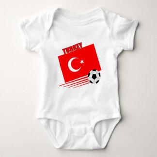 Turkish Soccer Team Baby Bodysuit