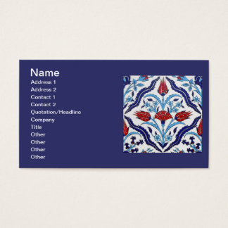 Turkish tile Business Card