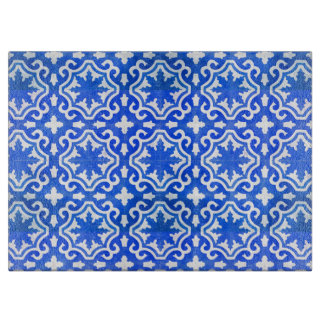 Turkish Tile in Blue and White Boards