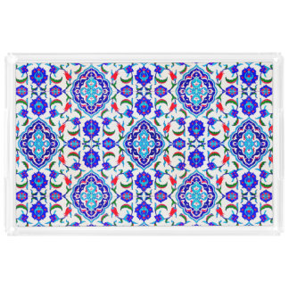 Turkish Tile inspired Design Perfume Tray