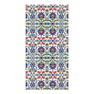 Turkish tile Photo Card