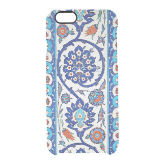 turkish tiles clear iPhone 6/6S case
