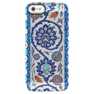 turkish tiles clear iPhone SE/5/5s case
