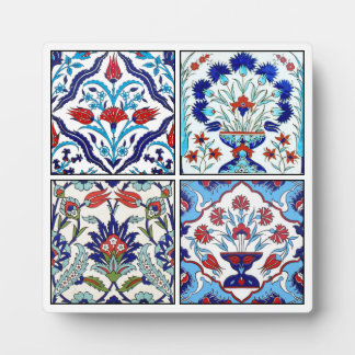 Turkish tiles collection plaque