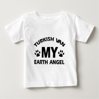 Turkish van cat design baby T-Shirt