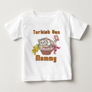 Turkish Van Cat Mom Baby T-Shirt