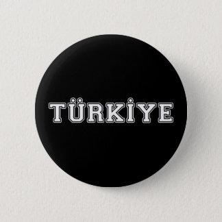 Türkiye 2 Inch Round Button