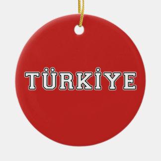 Türkiye Ceramic Ornament
