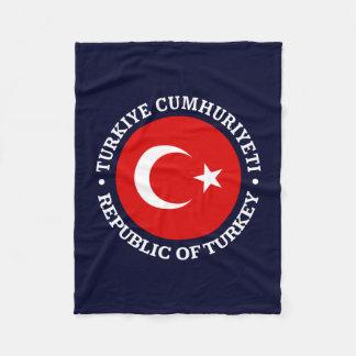 Turkiye Cumhuriyeti Fleece Blanket