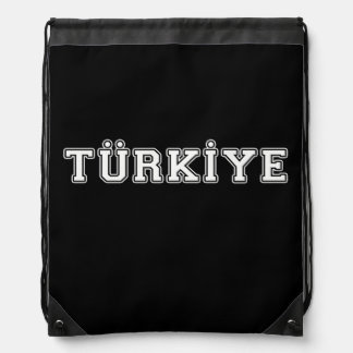 Türkiye Drawstring Bag