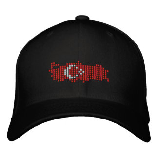 Turkiye Flag Embroidered Hat