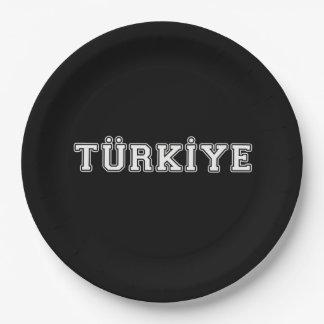 Türkiye Paper Plate