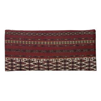 Turkmen Carpet Pattern Pencil Pouch Pencil Case