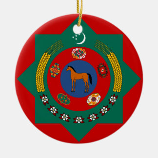 Turkmenistan Туркмения 1 Ceramic Ornament