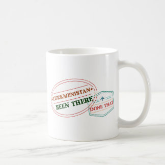 Turkmenistan Been There Done That Coffee Mug