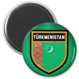 Turkmenistan Flag Magnet