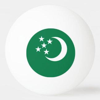Turkmenistan Flag Ping-Pong Ball