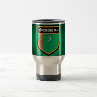 Turkmenistan Flag Travel Mug
