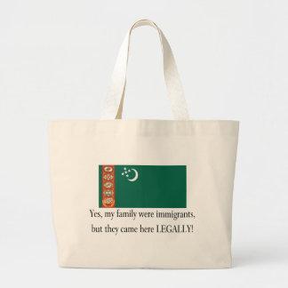 Turkmenistan Jumbo Tote Bag