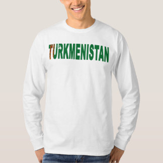 Turkmenistan Long sleeve T-Shirt