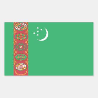 Turkmenistan/Turkmen Flag Sticker